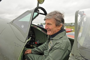 Peter de Crespigny - Spitfire Pilot in 2013