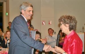 Richard with Jennifer Graham (AWPA National President)