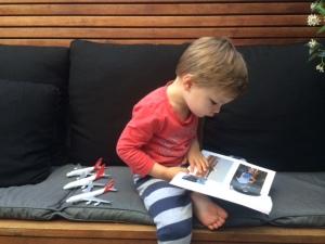 Oliver Klaas (3 yrs old) (Photo Jason Klaas)
