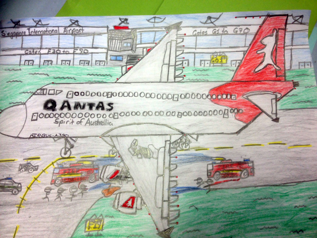 Thank you Rojan, a year 6 student at Penshurst Public School for this excellent drawing.