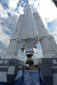 Ariane 5 Rocket (Paris Airshow 2013) Curtesy Richard de Crespigny)
