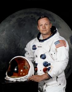 Neil Armstrong (Courtesy NASA)