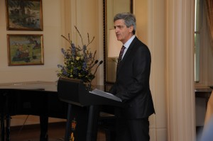 The Governor-General and Mr Michael Bryce AM AE hosted a morning tea for the official announcement of the Patron of Disabled Wintersport Australia, Mr Richard de Crespigny.
