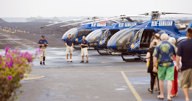 (Helicopter tours on the Big Island -