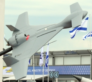 Israeli UAV at the Paris Air Show - Jun 2013  (Photo: Richard de Crespigny)