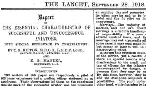 The Lancet 1918