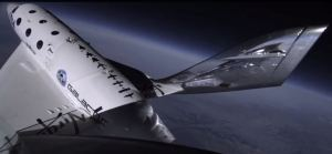 Virgin Galactic's 3rd Supersonic flight - 10 Jan 2014 (Image: Virgin Galactic)