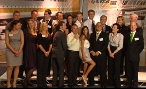 Some of the wonderful QF32 cabin crew at the Awards Ceremony - 2011
