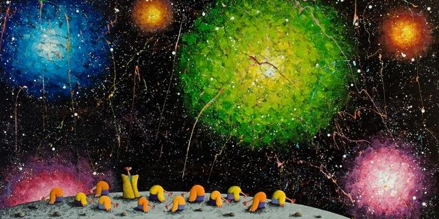 Armchair quarterbacks? (Painting by Coplu Coplu.com)