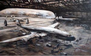 Constellation - painted by one of the world's best aviation artists - Jaak De Koninck (www.jaakdekoninck.be)