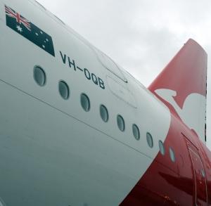 Qantas A380 VH-OQB