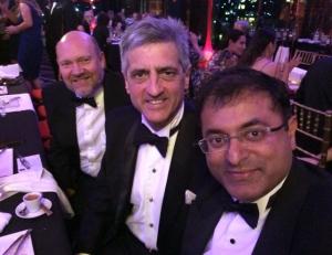 Prof Christian Langton and Sanjay Prakash