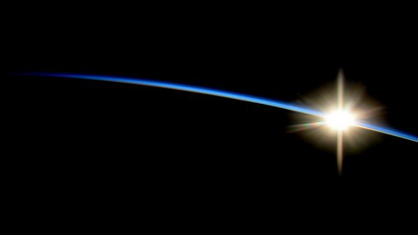 Sunrise from the ISS