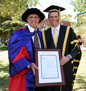 Andrew Vann: Vice-Chancellor and President of Charles Sturt University