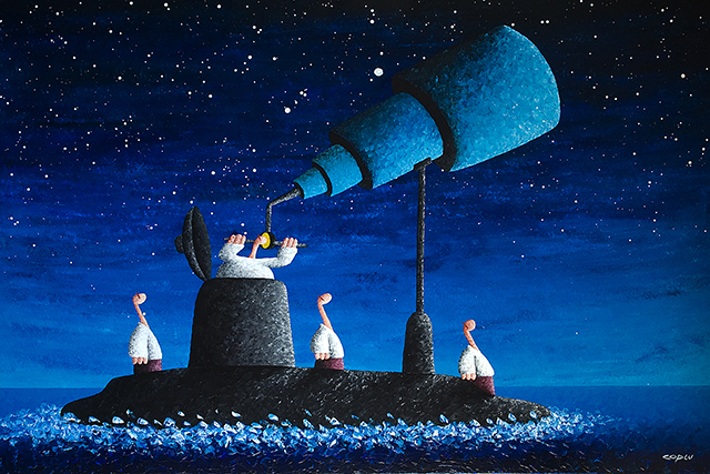 """In Search of Excellence "" Painting by Coplu (Coplu.Com)"