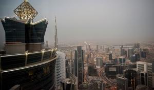 Dubai and the 2,800 foot high Burj Khalifa