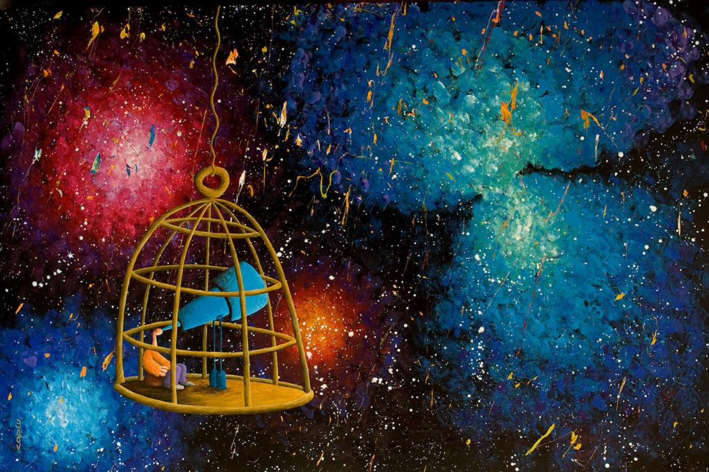 Wonder  (Painting by my friend Coplu (Coplu.Com))