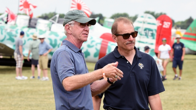 Sully and Jeff Skiles - Oshposh 2015 (RDC)