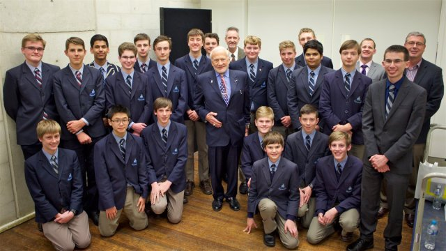 The Code Cadets with Buzz (Canberra Nove 2016)